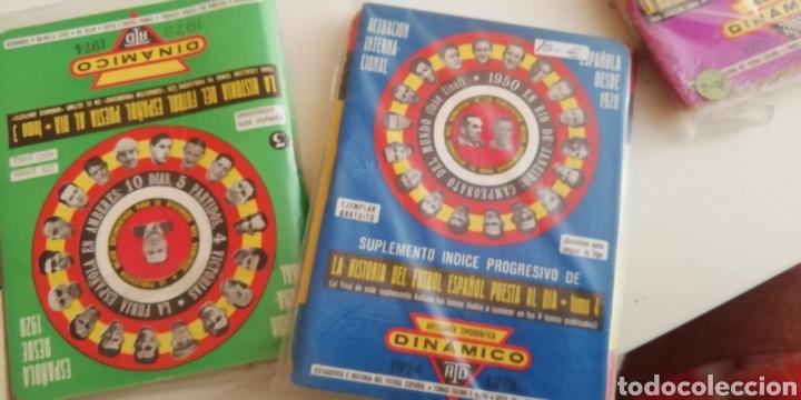 Coleccionismo deportivo: Calendario Dinámico fútbol 1970 a 1990 . La biblia fútbol español - Foto 5 - 287938973