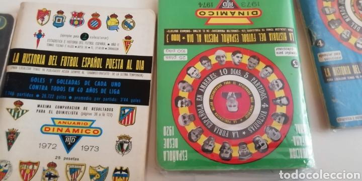 Coleccionismo deportivo: Calendario Dinámico fútbol 1970 a 1990 . La biblia fútbol español - Foto 6 - 287938973
