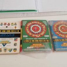Coleccionismo deportivo: CALENDARIO DINÁMICO FÚTBOL 1970 A 1990 . LA BIBLIA FÚTBOL ESPAÑOL. Lote 287938973