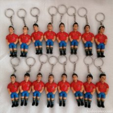 Coleccionismo deportivo: LLAVEROS SELECCIÓN ESPAÑA GANADORA MUNDIAL. Lote 288022438