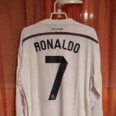 Coleccionismo deportivo: CAMISETA DE FÚTBOL RONALDO REAL MADRID. Lote 288365088
