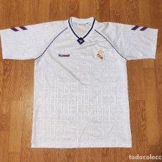 Coleccionismo deportivo: CAMISETA DE FÚTBOL REAL MADRID HUMMEL. Lote 288371058