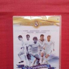 Coleccionismo deportivo: GLORIAS BLANCAS 1 KOPA AMANCIO JUANITO MICHEL BECKHAM - PRECINTADO. Lote 288875593