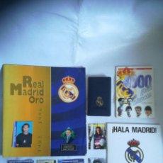 Coleccionismo deportivo: REAL MADRID AGENDA, DISCO..... Lote 294374308