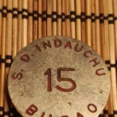 Coleccionismo deportivo: S.D INDAUCHU BILBAO FUTBOL. Lote 294491608