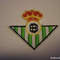 Coleccionismo deportivo: PARCHE BORDADO TERMOADHESIVO DEL CLUB DE FUTBOL BETIS.. Lote 295992698
