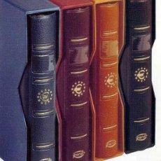 Material numismático: ALBUMES PARA COLECCIONAR MONEDAS DE EURO - PARDO. Lote 212261866