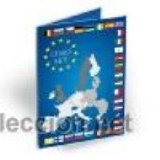 Material numismático: ESTUCHE (8 HUECOS) PARA LAS MONEDAS CIRCULANTES DE EURO. MARCA LEUCHTTURM. Lote 293336838