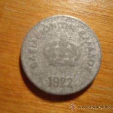 Material numismático: MONEDA 1922. Lote 38377786