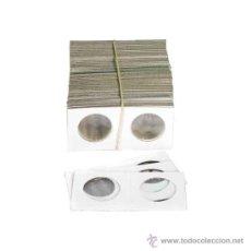 Material numismático: EDUNAVA LOTE 20 CARTONES PARA MONEDAS DE 3,5 CÉNTIMETROS (35 MM.). Lote 95809128