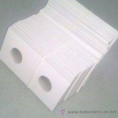 Material numismático: EDUNAVA! LOTE 10 CARTONES PARA MONEDAS!! DE 2,25 CÉNTIMETROS (22,5 MM.)!. Lote 95809258
