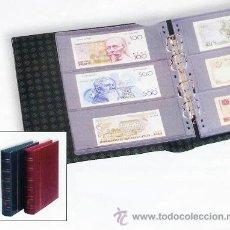 Material numismático: ALBUM PARA BILLETES. Lote 43502523