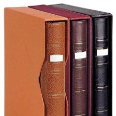 Material numismático: ALBUM UNIVERSAL PARDO PARA MONEDAS. MODELO 750 (VACÍO SIN HOJAS). Lote 287961658