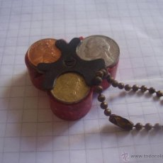 Material numismático: ANTIGUO MONEDERO PARA NIQUELES (BAQUELITA). Lote 45917086
