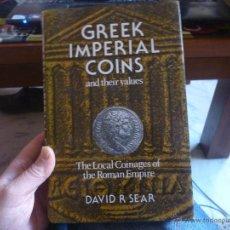 Material numismático: CATALOGO LA MONEDA IMPERIAL GRIEGA Y OTRAS ACUÑACIONES, EN INGLES. Lote 47936459