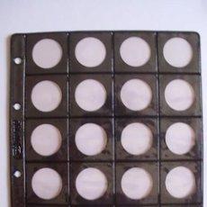Numismatisches Material - Hoja Pardo para 20 monedas. Modelo nº 752 - 50096053