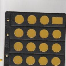 Numismatisches Material - HOJA BEUMER PARA MONEDAS CON CLARABOYA A ESTRENAR - 51673367
