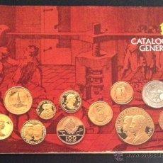 Material numismático: CATALOGO GENERAL DE ACUÑACIONES ESPAÑOLAS S.A. 1978 Y LISTA DE PRECIOS MONEDAS. Lote 52294229