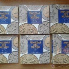 Material numismático: MONEDAS DEL MUNDO. COLECCIÓN COMPLETA. 6 VOLÚMENES. ORBIS FABRIS.. Lote 53007057
