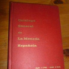 Material numismático: CATALOGO GENERAL DE LA MONEDA ESPAÑOLA. FELIPE V ISABEL I. JOSE A VICENT 1969 384 PP. Lote 54189933