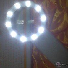 Material numismático: LUPA DE 10 LEDS PARA MONEDAS. Lote 54775045