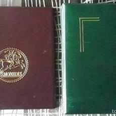 Material numismático: LOTE DE DOS ARCHIVADORES DE MONEDAS. Lote 55132954