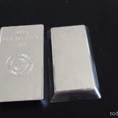 Material numismático: LINGOTE SEMPSA 500GR PLATA PURA. Lote 63977062