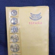 Material numismático: MONEYPAS ESTUCHES MONEDAS 10 CTS A 50 PTAS 1966 NUEVOS DIVISAS CAMBIO 17,8X12CMS. Lote 62993700