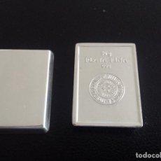Material numismático: LINGOTE SEMPSA 50GR PLATA PURA. Lote 195490323