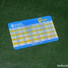 Material numismático: TARJETA CONVERSION PESETA EURO 3D - GENERALITAT DE CATALUNYA 2002. Lote 77204533