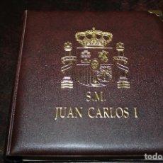 Material numismático: ALBUM MONEDAS ESPAÑOLAS JUAN CARLOS I (BEUMER). Lote 82968048
