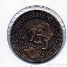 Material numismático: N° 240 - LINDA MEDAHLA DE 100 STALEN 1982 OPPUURS. Lote 87420712
