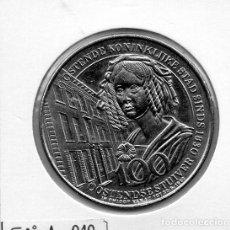 Material numismático: N° 040 - LINDA MEDAHLA DE 100 OOSTENDE. Lote 87421800