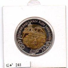 Material numismático: N° 241 - HOLANDA - LINDA MEDAHLA DE 2 REMBRANDT- LEIDEN. Lote 87422324