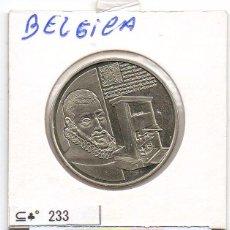 Material numismático: N° 233 - BELGICA - LINDA MEDAHLA PATRIMONIO MONDIAL. Lote 87423600