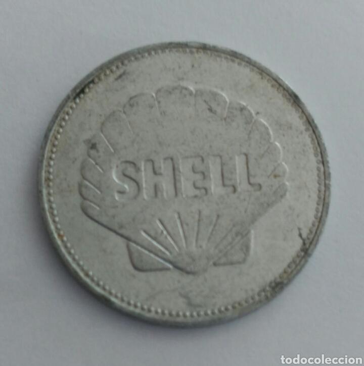 FICHA TOKEN DE LA SHELL ETIENNE JOSEP MONTGOLFIER (Numismática - Material Numismático)