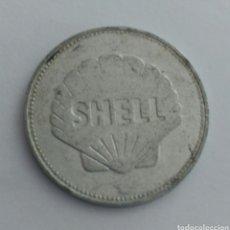 Material numismático: FICHA TOKEN DE LA SHELL ETIENNE JOSEP MONTGOLFIER. Lote 88786338