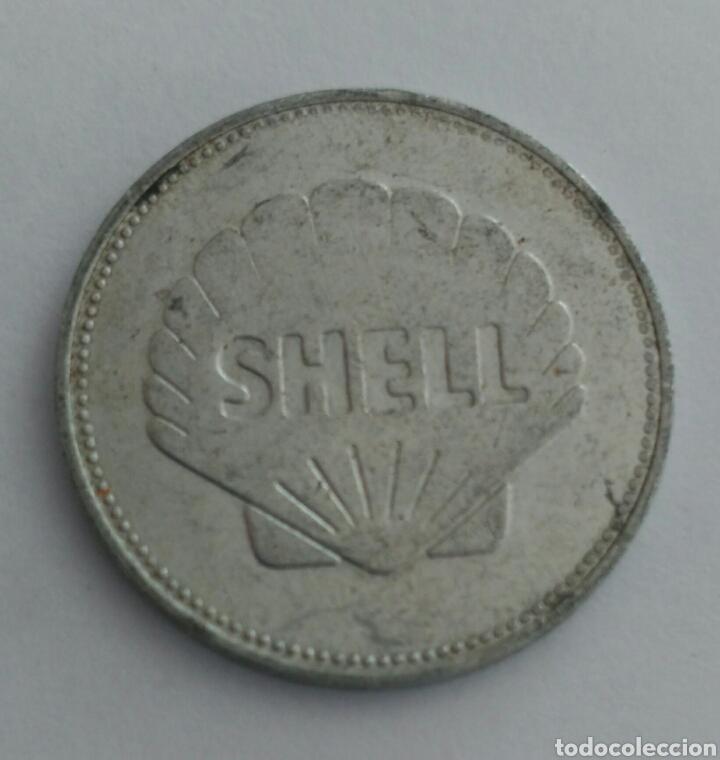 Material numismático: FICHA TOKEN DE LA SHELL ETIENNE JOSEP MONTGOLFIER - Foto 3 - 88786338