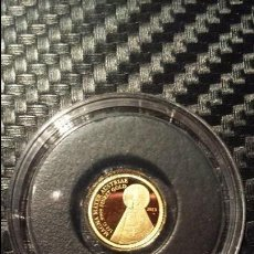 Material numismático: MONEDA ORO 999 MAGNA MATER 2013 SAMOA . Lote 95092587
