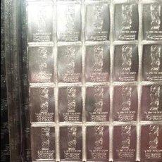 Material numismático: LINGOTES DE PLATA 999 20 LINGOTES DE 1 GRAMO. Lote 95229147