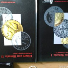 Material numismático: DOS LIBROS I YII DINERO CON HISTORIA . Lote 95820460