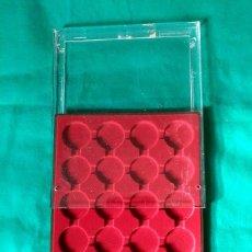 Material numismático: BANDEJA PARA MONEDAS GRANDES CON CAJA DE METACRILATO LEUCHTTURM- 23 X 29 CENTIMETROS - 20 ESPACIOS . Lote 97660295