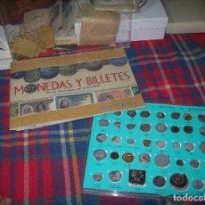 Material numismático: MONEDAS Y BILLETES EN LA HISTORIA DE LAS BALEARES.COLECCIÓN INCOMPLETA. 1998. UNA JOYA!!!!.. Lote 195245228