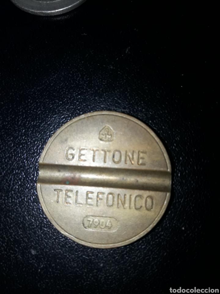 FICHA TELEFÓNICA ITALIA GETTONE 7904 (Numismática - Material Numismático)