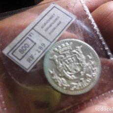 Material numismático: MONEDA O MEDALLA DE BETERA ALICANTE PLATA DE 800. Lote 102083771