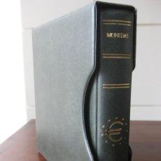 Material numismático: ÁLBUM CON ESTUCHE PARA MONEDAS. Lote 107665599