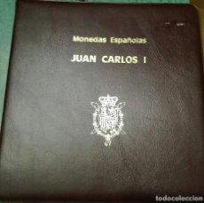 Material numismático: ALBUM MONEDAS JUAN CARLOS I. Lote 111529603