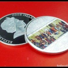 Material numismático: MONEDA ARS VATICANA AÑO 2008 RAFFAELLO SANZIO CON BAÑO DE PLATA.. Lote 113700503