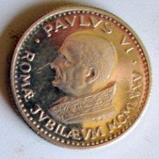 Material numismático: PABLO VI - 22 MM - PLATA DE 925. Lote 114145207