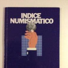 Material numismático: INDICE NUMISMATICO BANCA MAS SARDA 1977 MONEDAS. Lote 114265155
